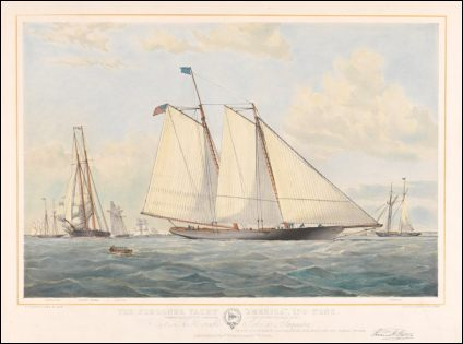 THE SCHOONER AMERICA - Thomas G. Dutton