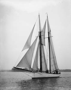 The schooner Atlantic by John S. Johnston