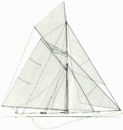1851 - AMERICA'S CUP YACHT DESIGNS - 1986    By François Chevalier & Jacques Taglang