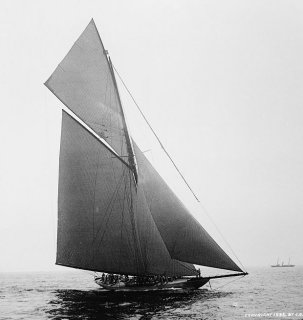 The 19th-century yacht photography of John S. Johnston of New York City