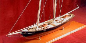 AMERICA - WOOD MODEL SHIP KIT BY BLUEJACKET MODEL